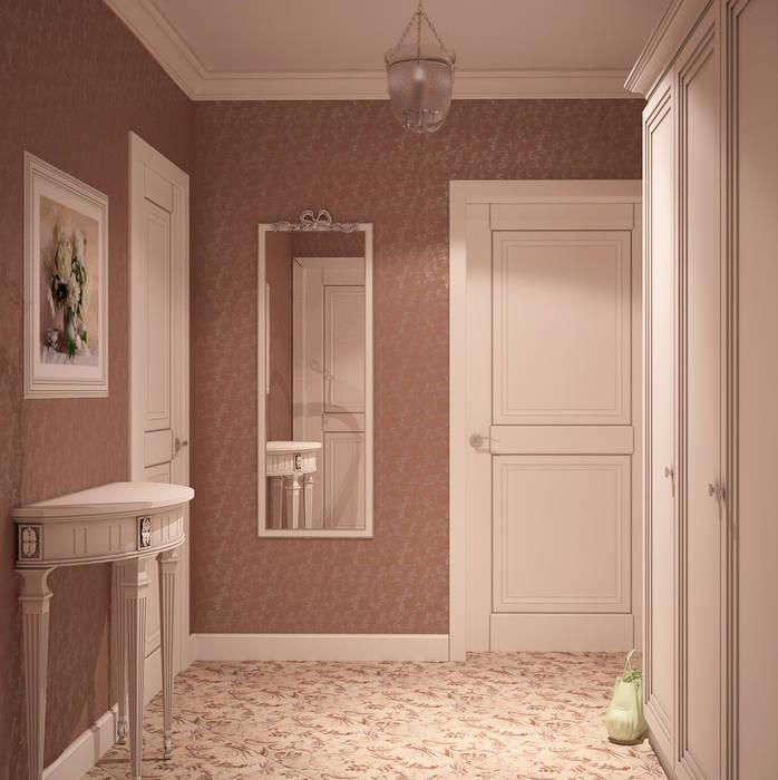 Country style corridor, hallway& stairs by Универсальная история Country