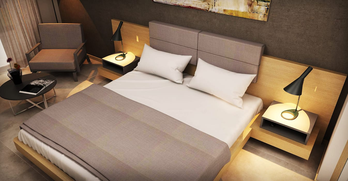 Modern hotels by homify Modern