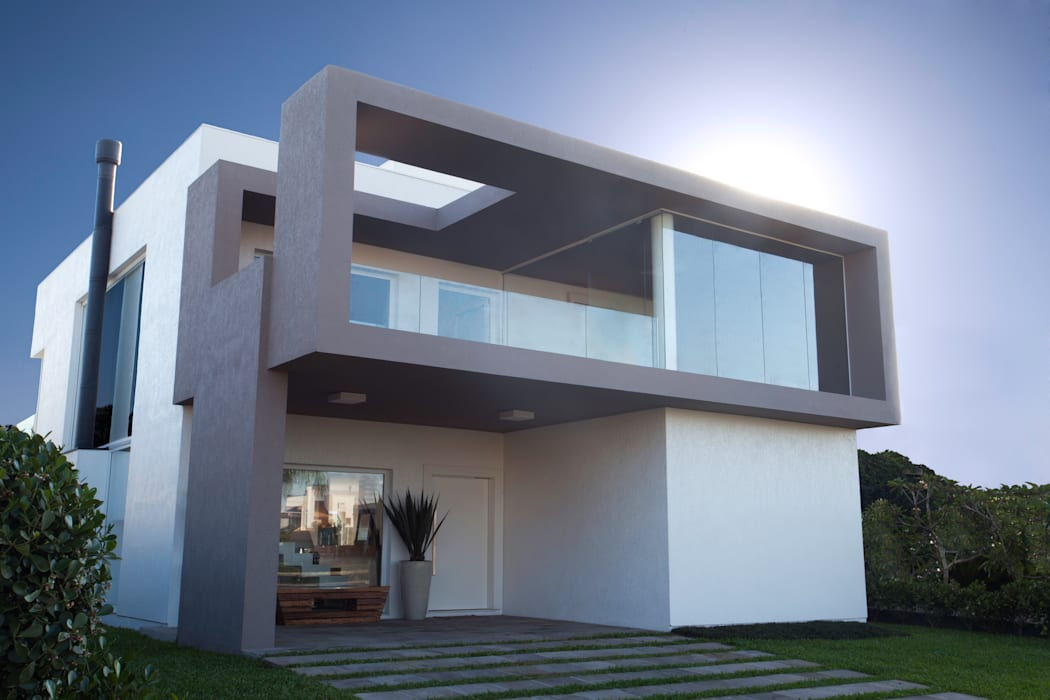 CASA PRAIA Casas minimalistas por Tweedie+Pasquali Minimalista