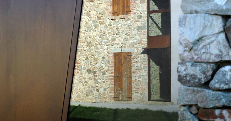 vista porzione rustico: Cantina in stile In stile Country di GRISDAINESE
