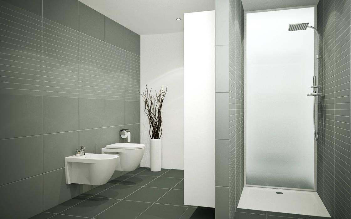 Bad: badezimmer von innenarchitektur schucker & krumm,modern ...