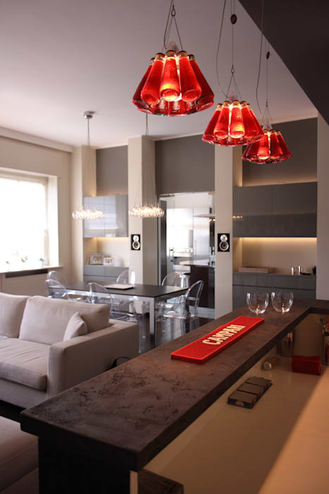 Angolo bar: soggiorno in stile di gaia brunello | photo&homestaging ...