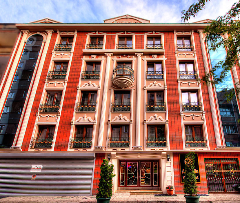 Casas modernas de NK Fotoğraf ve Video Prodüksiyon Moderno