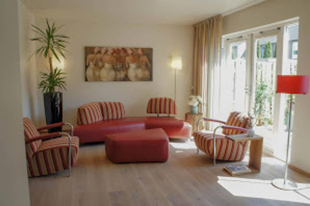 Eiken Multiplank Moderne muren & vloeren van De Vloerderij bv Modern