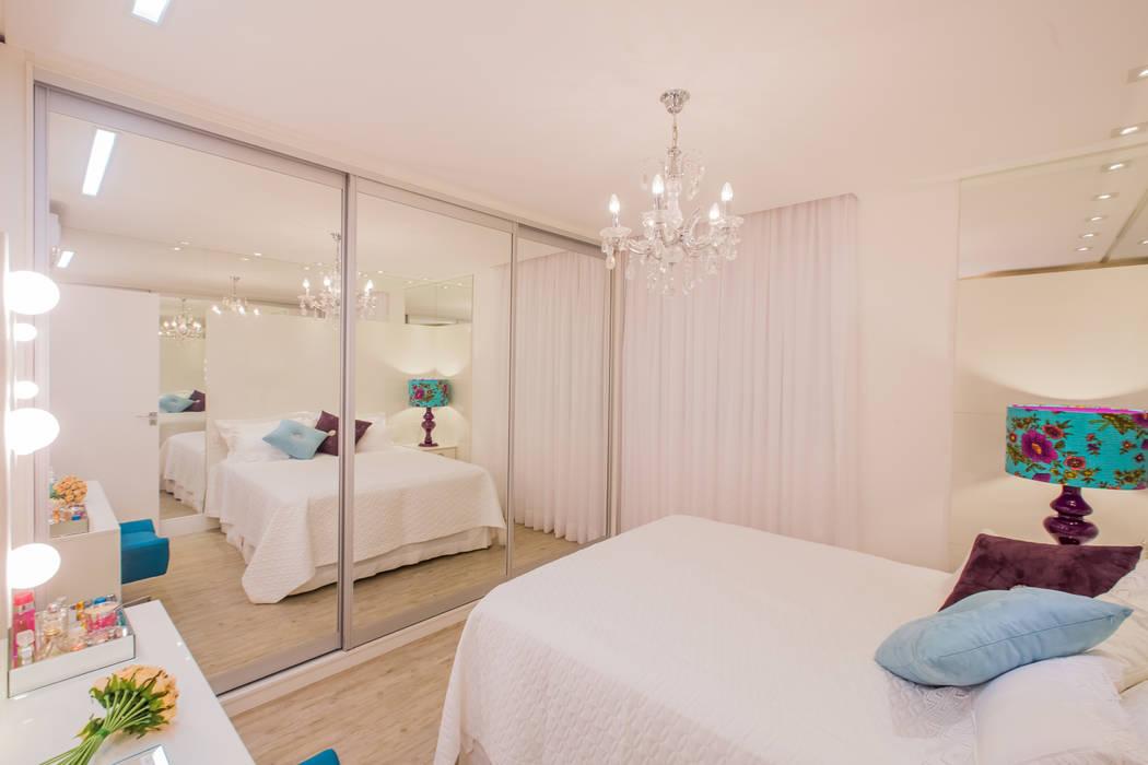 Apartamento em Cascavel Evviva Bertolini Quartos clássicos