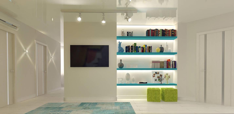 Salon de style  par Tutto design