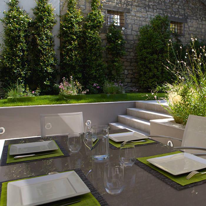Un jardin contemporain jardin de style par garden trotter homify - Creer un jardin contemporain ...