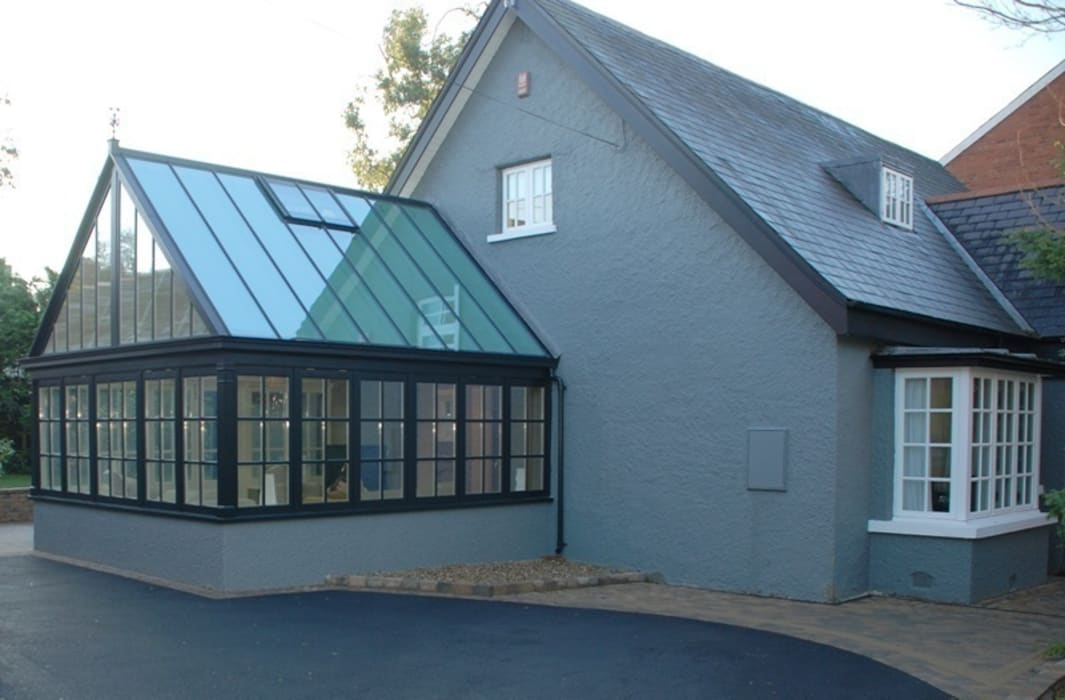 Hardwood Conservatory โดย Hampton Windows คลาสสิค