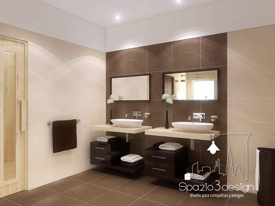 Baño Spazio3Design Baños minimalistas