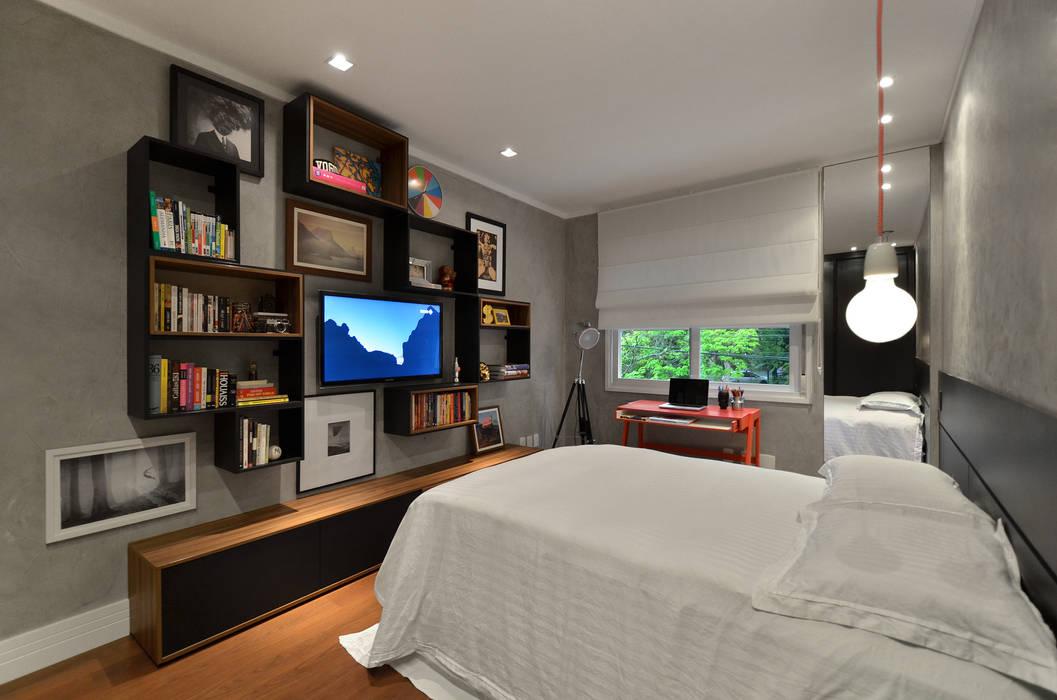 Kamar Tidur Modern Oleh Johnny Thomsen Arquitetura e Design Modern