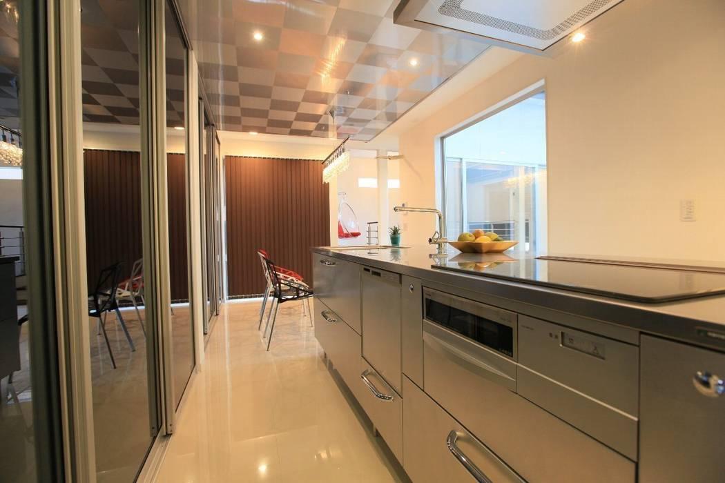 キッチン: 株式会社 In Designが手掛けたキッチンです。