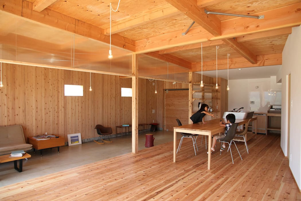 Hinanai Village House Comedores de estilo moderno de dygsa Moderno