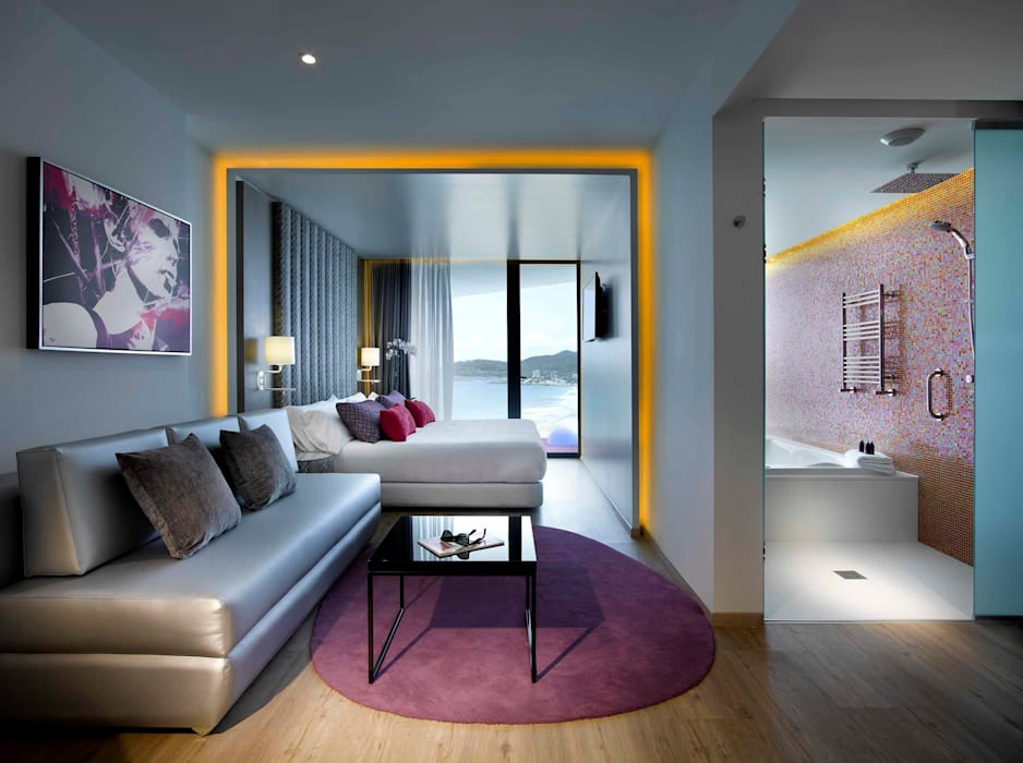 Alfombras Veo Veo.- Alfombras personalizadas Hoteles de estilo moderno de Alfombras Veo Veo Moderno