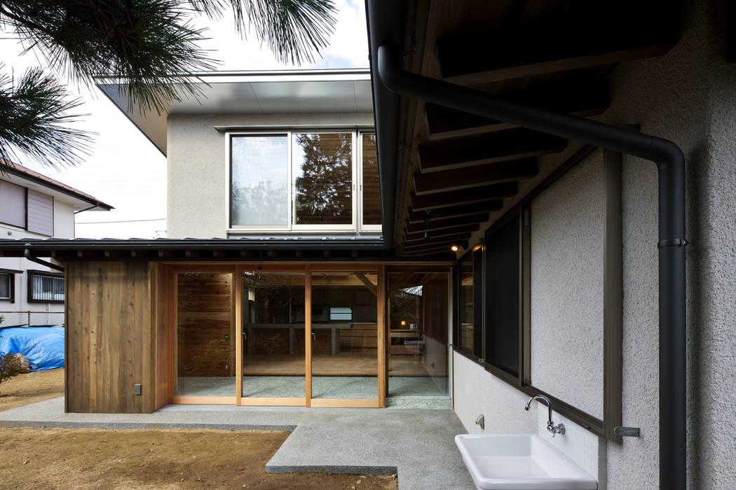 Modern home by たなはしゆか建築設計アトリエ Modern