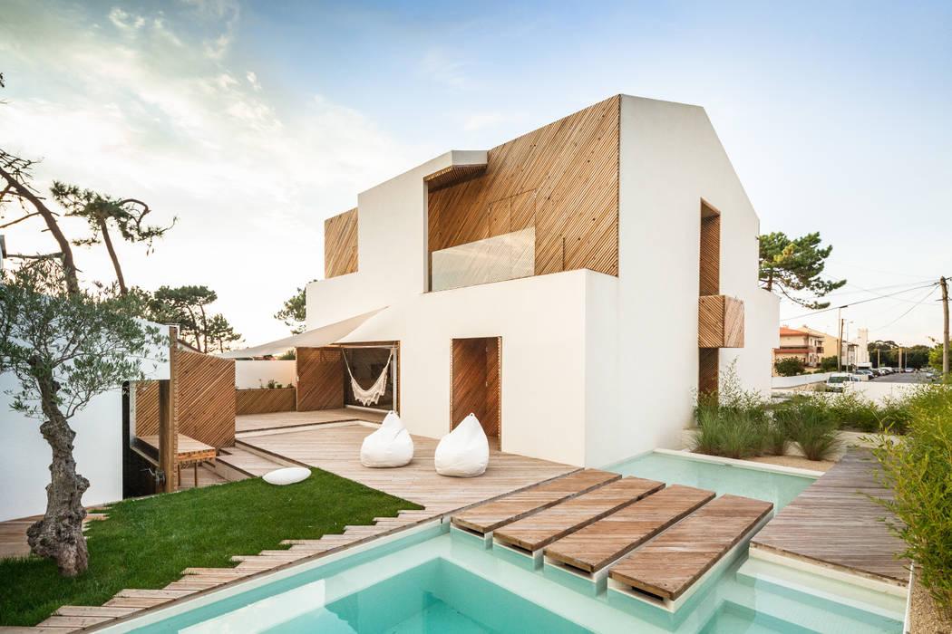 SilverWoodHouse Modern Evler Joao Morgado - Architectural Photography Modern