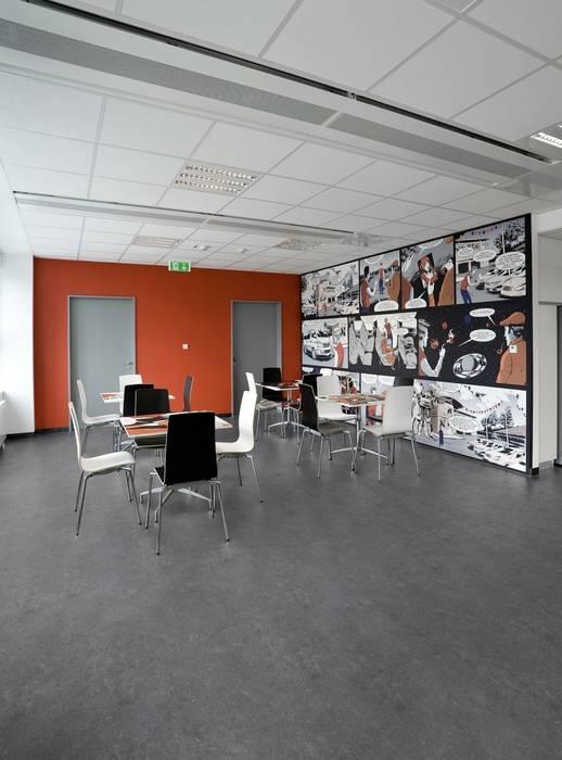Pavimentos Para Oficinas Paredes Y Suelos De Estilo Moderno De - Pavimentos-modernos