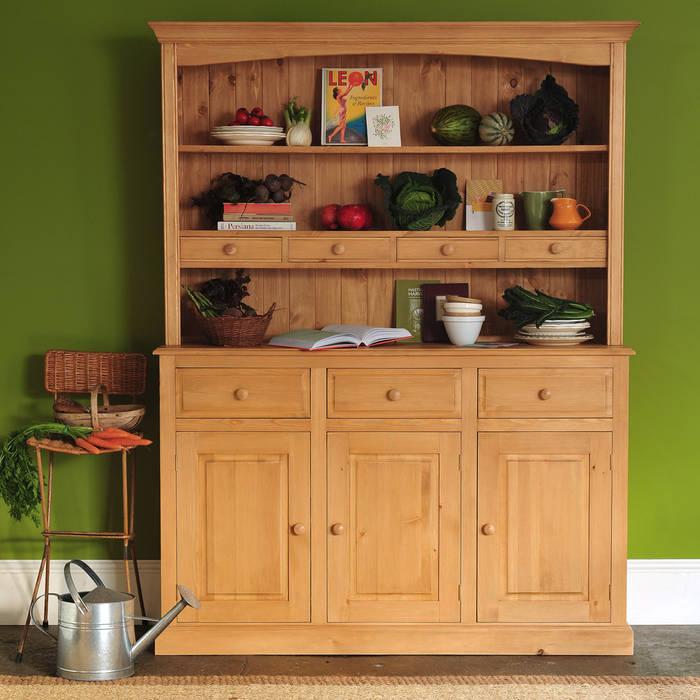 Dorchester Pine 5ft Welsh Dresser par The Cotswold Company Rural