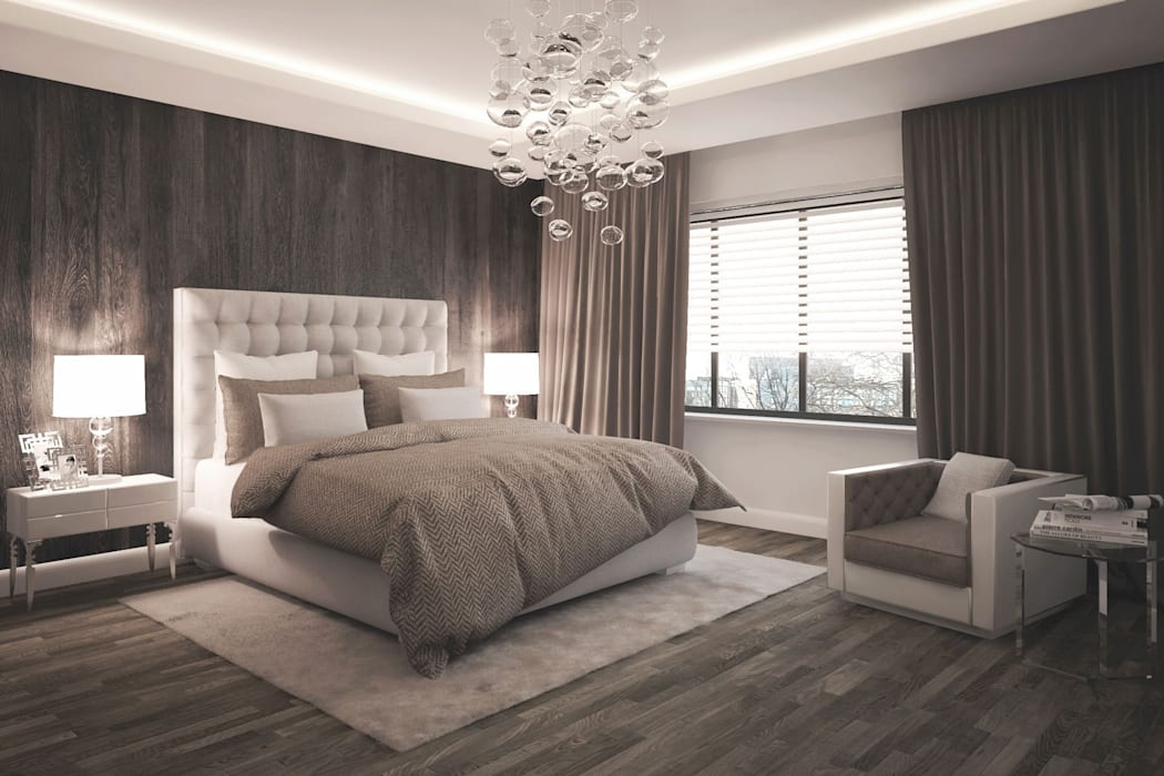 Modern style bedroom by formforhome Architecture & Design Modern