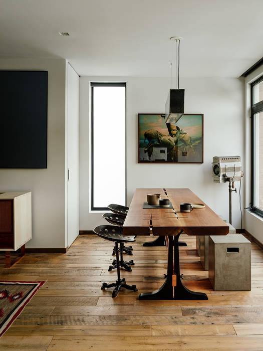 Vinegar Hill Apartment Moderne Esszimmer von General Assembly Modern