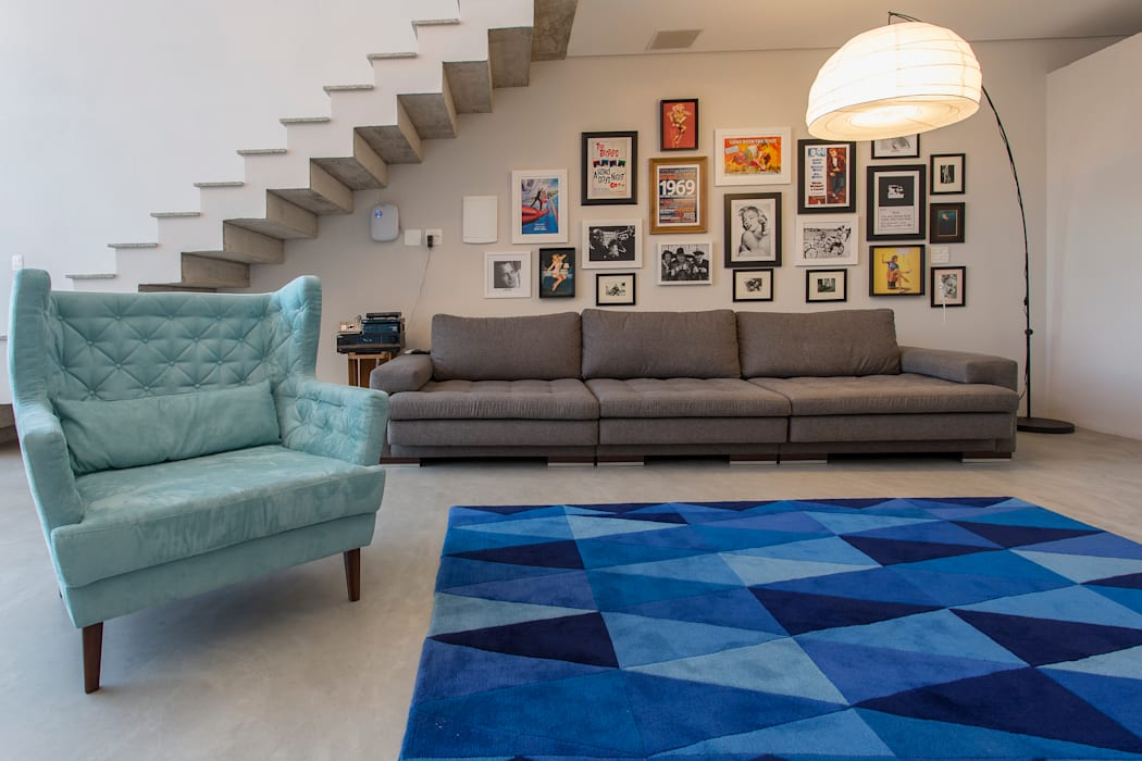 Salas de estilo minimalista de Barbara Dundes | ARQ + DESIGN Minimalista