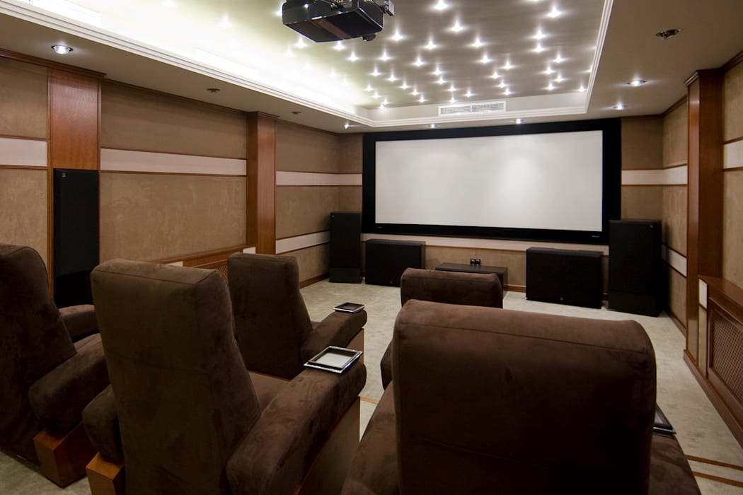 Classic style media rooms by ItalProject Classic