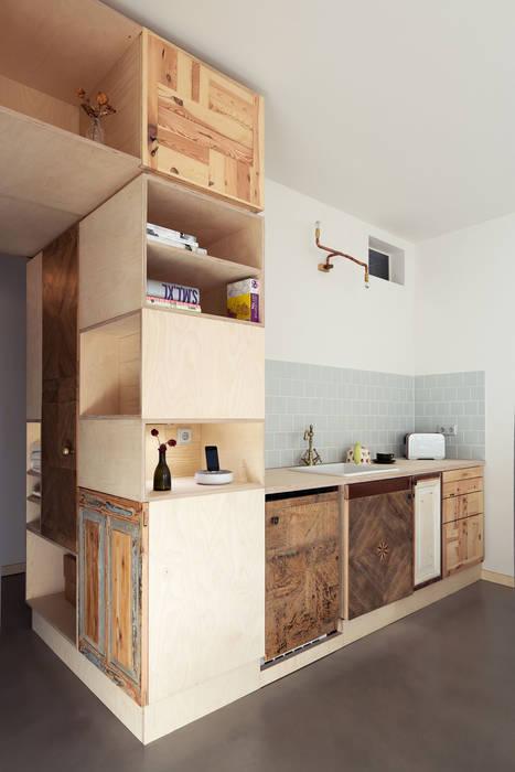 Kitchenette Dapur Gaya Eklektik Oleh paola bagna Eklektik