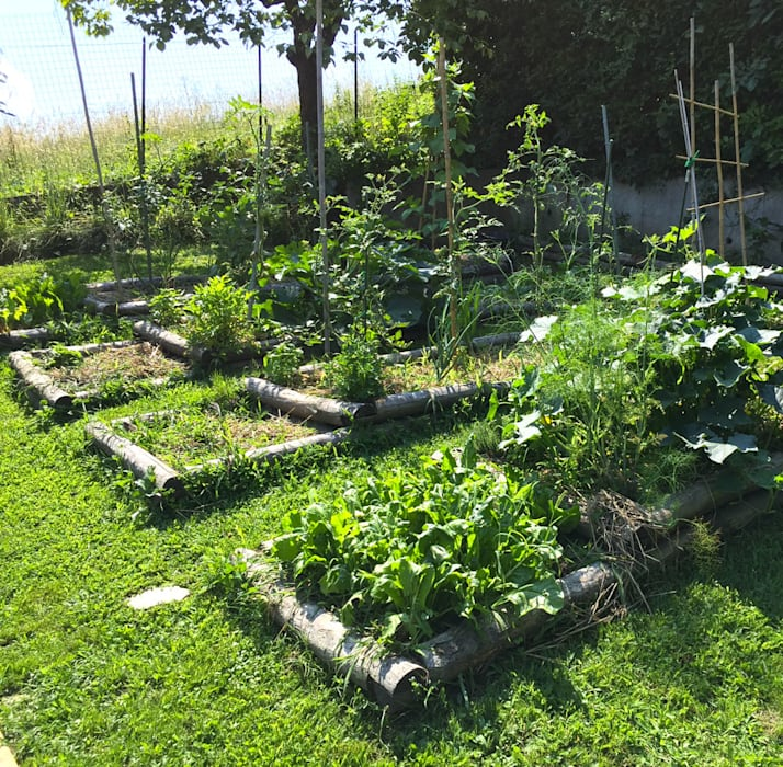 Garten im Landhausstil von suingiardino Landhaus