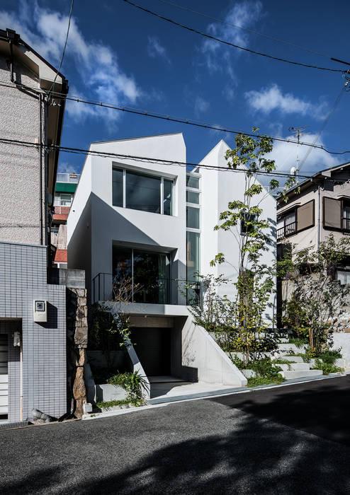 クレバスハウス 外観 モダンな 家 の 株式会社seki.design モダン