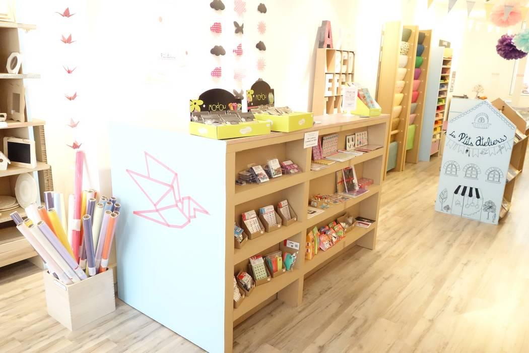 Amenagement de magasin : Locaux commerciaux & Magasins de style  par MY NATURE BOX