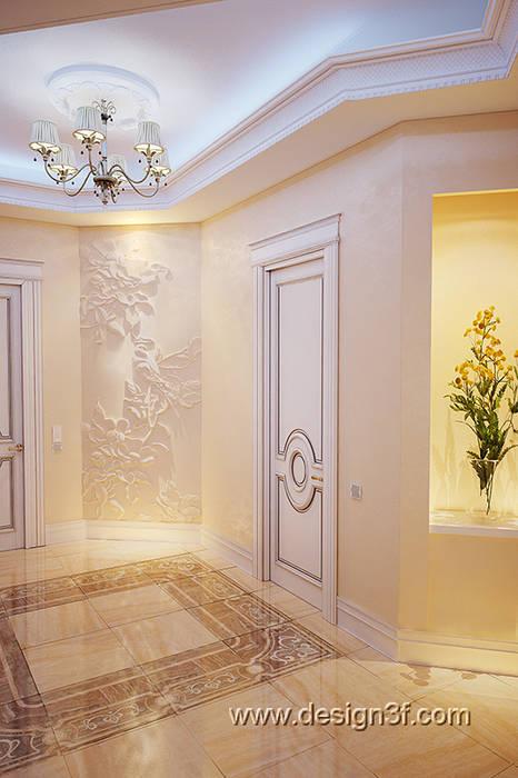 Couloir et hall d'entrée de style  par студия Design3F, Classique