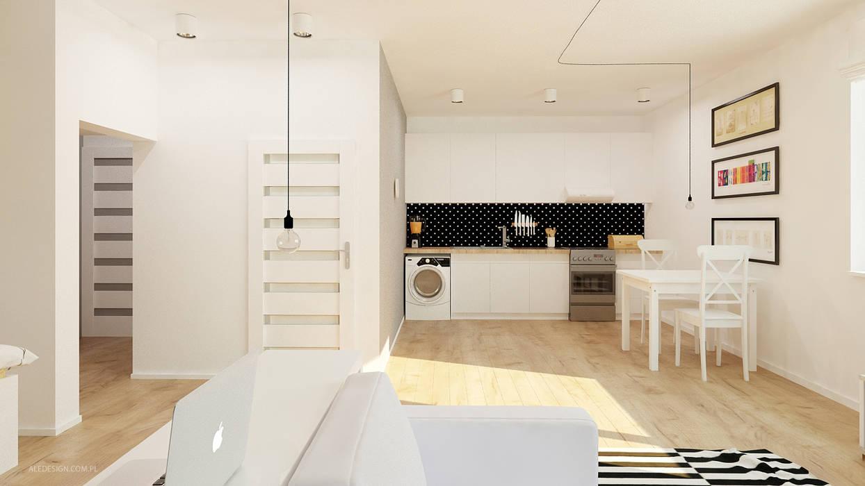 Cozinhas minimalistas por Ale design Grzegorz Grzywacz Minimalista