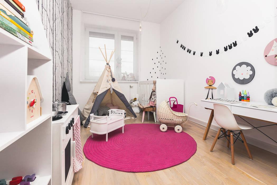 Pokój dziecięcy Skandynawski pokój dziecięcy od ARCHISSIMA Skandynawski