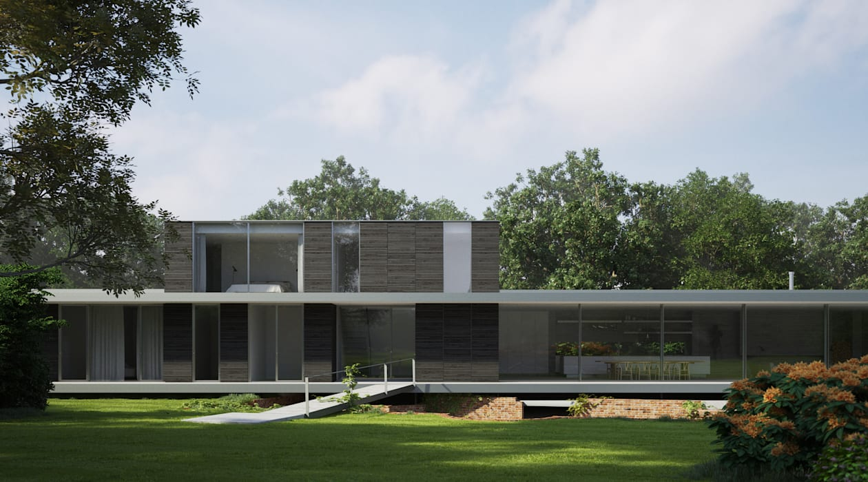 Houses by Strom Architects, Mediterranean