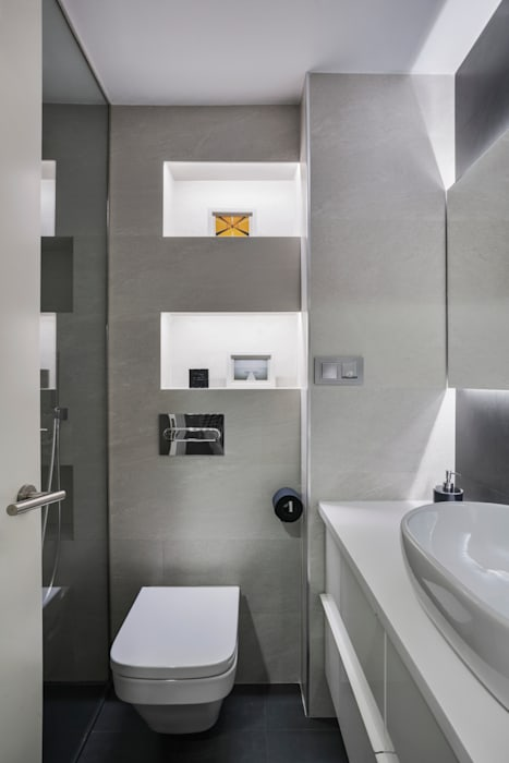 Space Maker Studio Modern bathroom