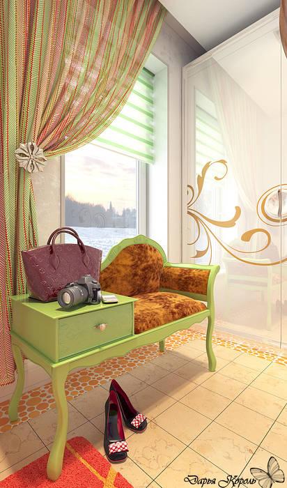 Pasillos, halls y escaleras minimalistas de Your royal design Minimalista