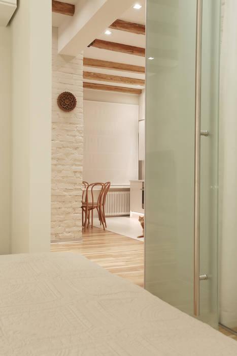 Вид из спальни : Спальни в . Автор – Double Room, Скандинавский