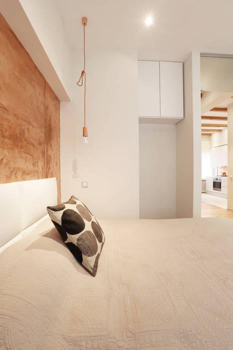 Спальня Double Room Спальня в скандинавском стиле