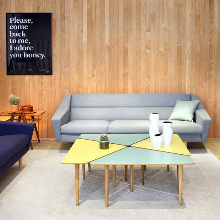 Couchtisch Cosmo Im Retro Look Wohnzimmer Von Baltic Design Shop