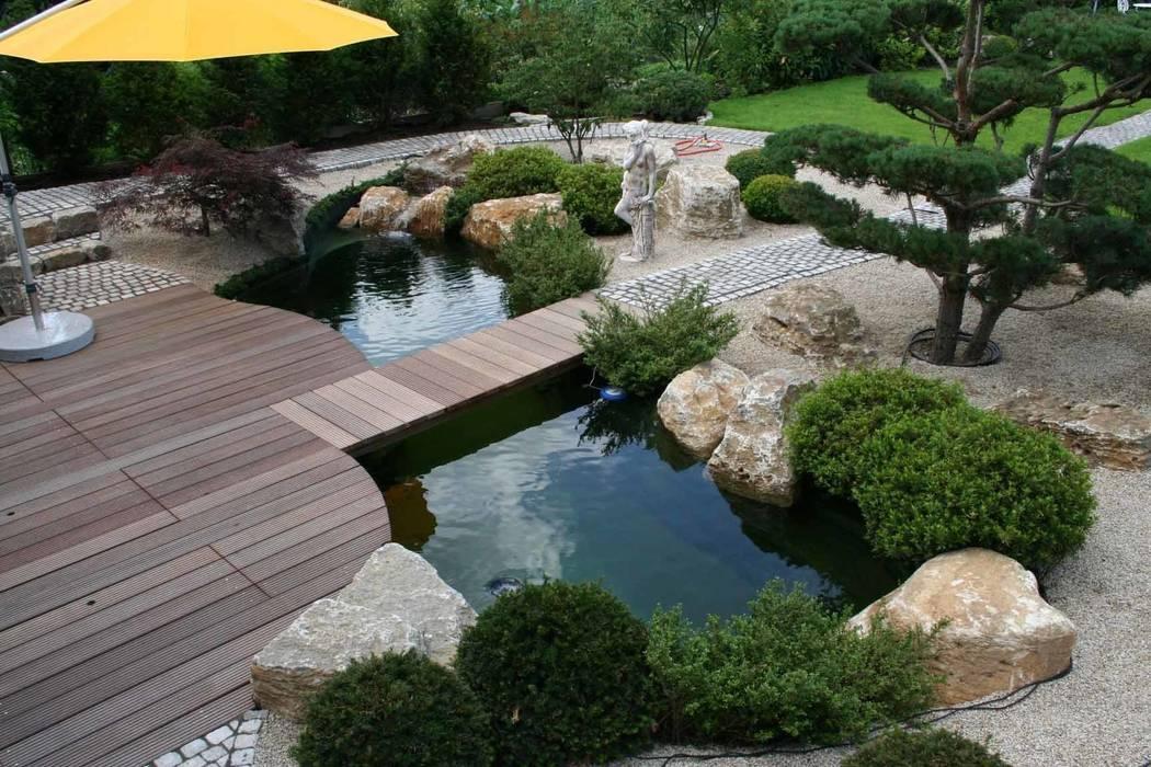 Asian style pool by V&S Teich, Garten und Design Asian