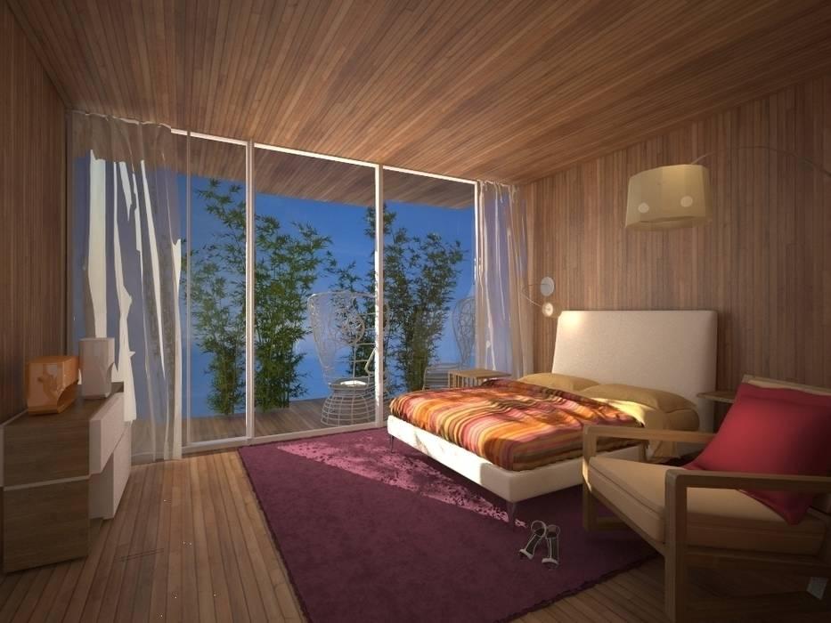 Спальня Спальня в стиле минимализм от 16dots Минимализм