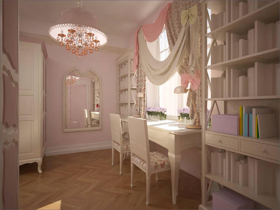 Детская комната. Дневная зона: Детские комнаты в . Автор – 16dots