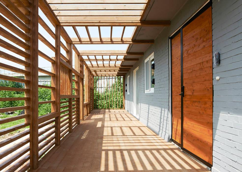 G House - Facade Casas minimalistas por NEN Minimalista