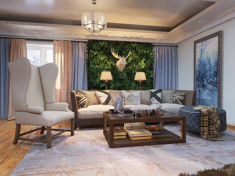 Salas de estilo clásico de Katerina Butenko Clásico