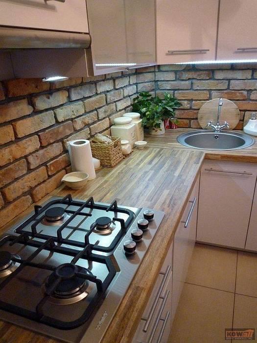 Dapur Gaya Rustic Oleh ITA Poland s.c. Rustic
