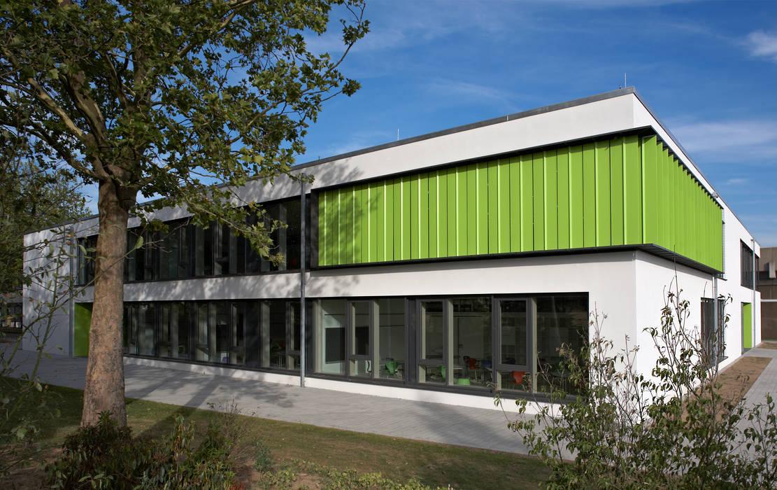 Heinrich Böll Schule Hattersheim Neubau Oberstufengebäude Hkr Architekten Gmbh Moderne Schulen Homify