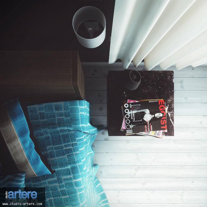 Modern Blue vue 3: Chambre de style de style Moderne par Studio Artere