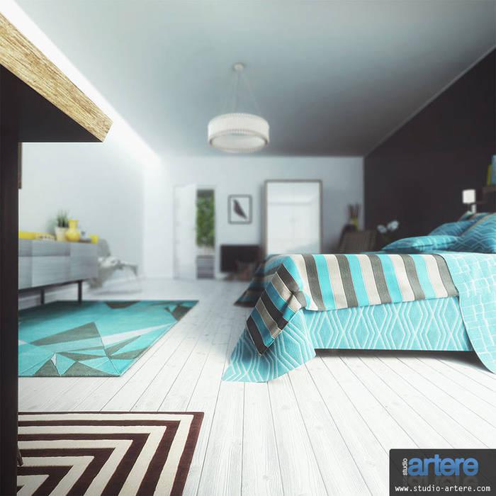Modern Blue vue 5: Chambre de style de style Moderne par Studio Artere