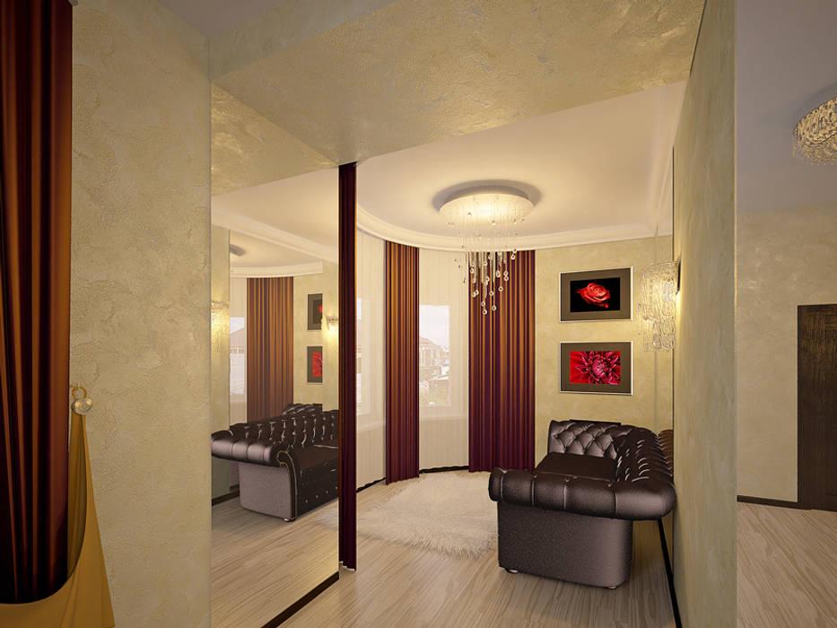 дизайн интерьера Коридор, прихожая и лестница в стиле минимализм от homify Минимализм
