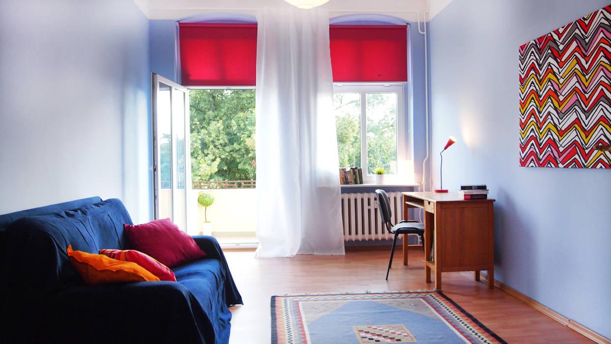 Dormitorios infantiles de estilo ecléctico de Studio projektowe SUZUME Ecléctico
