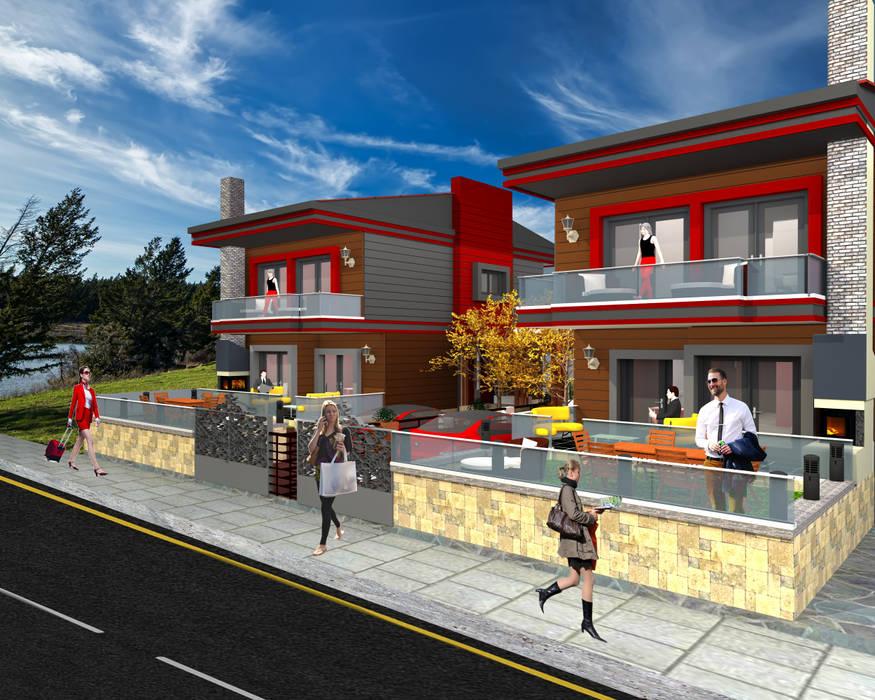 Villa Project Modern Evler DETAY MİMARLIK MÜHENDİSLİK İÇ MİMARLIK İNŞAAT TAAH. SAN. ve TİC. LTD. ŞTİ. Modern